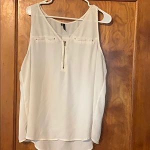 Maurices sheer shell